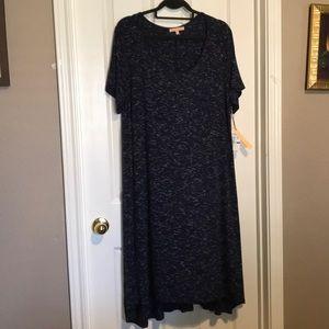 Gibson Latimer midi blue dress XL NWT